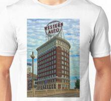 Western Auto Building - Kansas City Unisex T-Shirt