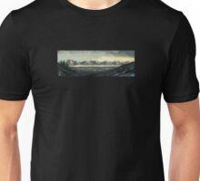 Speedpaint Landscape: Arctic scenery Unisex T-Shirt