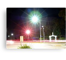 War Memorial at Night Canvas Print