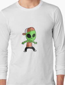 Cool Alien Long Sleeve T-Shirt