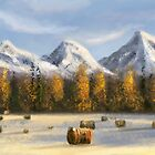 Speedpaint Arctic scenery III by Richard Eijkenbroek