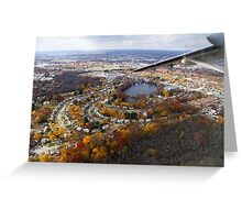 Providence, RI Fall Approach Greeting Card