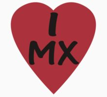I Love Mexico - Country Code MX T-Shirt & Sticker by deanworld