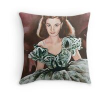 Scarlett O'Hara Throw Pillow