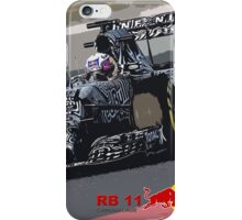 Red Bull RB 11 F1 iPhone Case/Skin