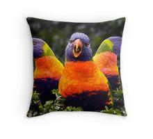 Aren't We Beautiful? Throw Pillow