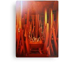 Disney Hall Organ Metal Print