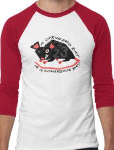 Ratty Rage Rot Men's Baseball ¾ T-Shirt