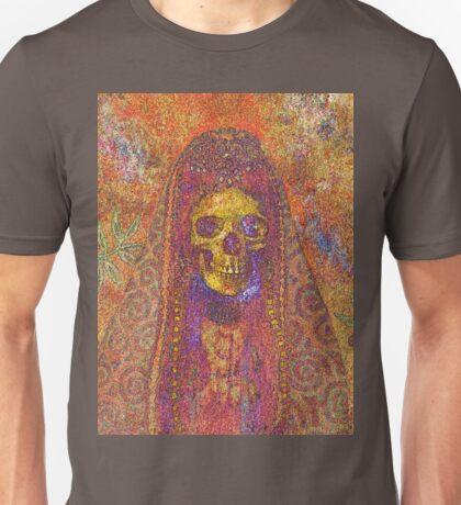 Gothic Decorative Skeleton Unisex T-Shirt