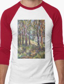 Gum Scrub - plein air paint out Men's Baseball ¾ T-Shirt