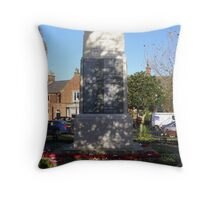 Lytham War Memorial Throw Pillow