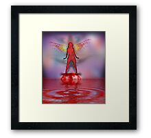 Blood Bath Fairy Framed Print
