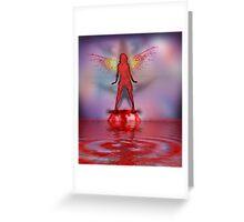 Blood Bath Fairy Greeting Card