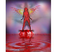 Blood Bath Fairy Photographic Print