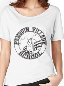 Penguin Village School Women's Relaxed Fit T-Shirt