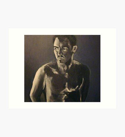 Study of Human Form (chiaroscuro) Art Print