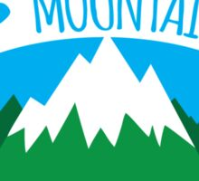 Crazy Mountain Lady Sticker