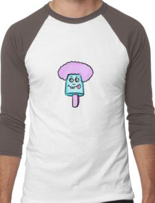 Purple daze lolly Men's Baseball ¾ T-Shirt