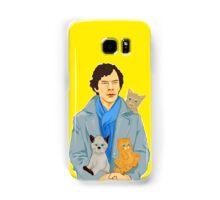 Sherlock and kittens Samsung Galaxy Case/Skin