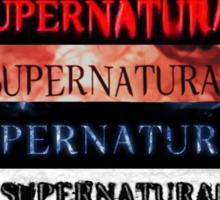 Supernatural intro seasons 1-10 Sticker