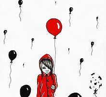 The Red Balloon. by Kersten Peterson