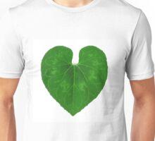 Love Heart Leaf Unisex T-Shirt