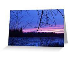 First light Greeting Card