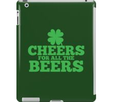 Cheers for all the Beers iPad Case/Skin