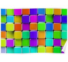 Colorful mosaic Poster