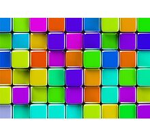 Colorful mosaic Photographic Print