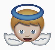 Baby Angel Emoji by emojiprints