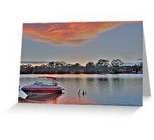 Murray Morning, Mannum. S.A Greeting Card