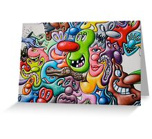 graffiti3 Greeting Card