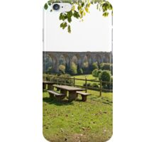 Newbridge Viaduct from Froncysyllte, North Wales UK iPhone Case/Skin