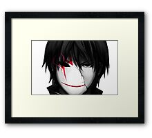 Anime Mask items Framed Print