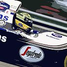 Ayrton Senna Williams Renault by harrisonformula