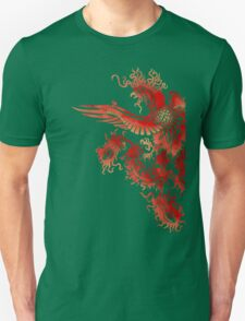Phoenix Stencil - Fancy Red Version T-Shirt