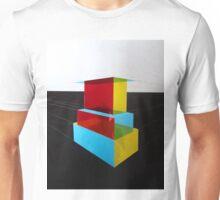 Bauhaus Primary Coloured Architectural Design  Unisex T-Shirt