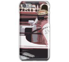 Ayrton Senna Marlboro McLaren iPhone Case/Skin