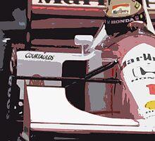 Ayrton Senna Marlboro McLaren by harrisonformula