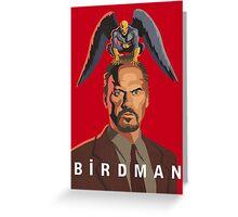 The Birdman Greeting Card