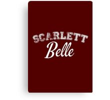 Once Upon a Time - Scarlett Belle Canvas Print