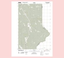Maine USGS Historical Map North Amity 20110829 TM One Piece - Short Sleeve
