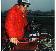 Ayrton Senna Karting by harrisonformula