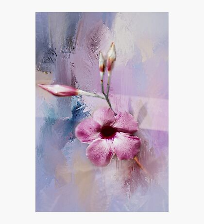 Painted Flowers Photographic Print