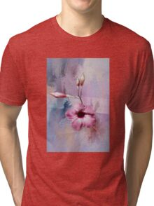 Painted Flowers Tri-blend T-Shirt