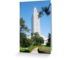 Louisiana State Capital Greeting Card