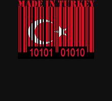 Turkey Barcode Flag Made In... Unisex T-Shirt