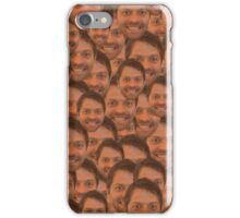 Misha collins face iPhone Case/Skin