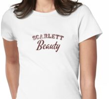 Once Upon a Time - Scarlett Beauty Womens Fitted T-Shirt